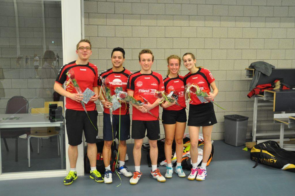 Con Brio 2 kampioen TOP-klasse HBB! | Helmondse Badminton Bond Badmintonbond