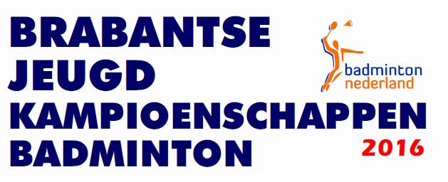 Schrijf je nu in voor de Brabantse Jeugd Kampioenschappen 2016!