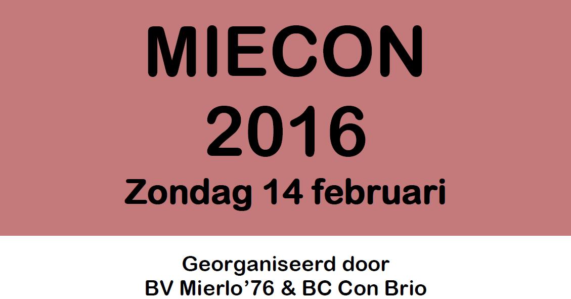 Uitnodiging MieCon Seniorentoernooi 2016