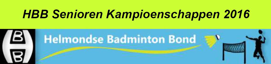 Uitnodiging HBB Senioren Kampioenschappen 2016