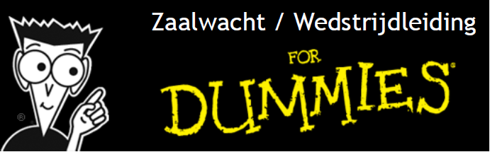 Taken Zaalwacht/Wedstrijdleiding