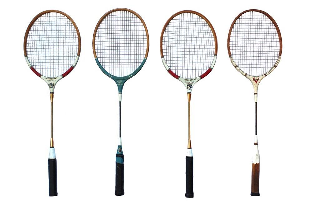 Oude badmintonrackets gezocht!