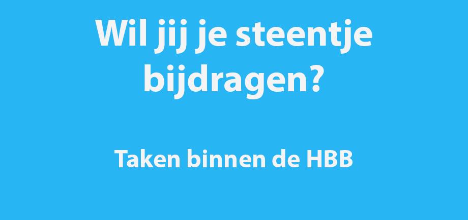 Taken binnen de HBB (Deel 3: BCS/BCJ)