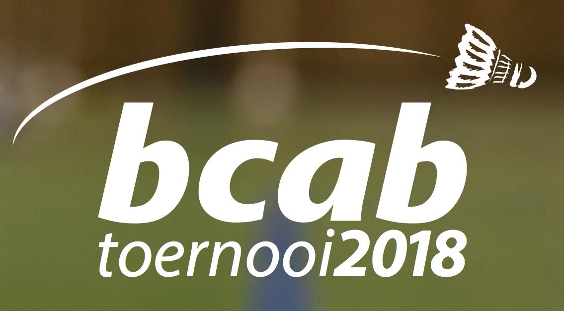 Uitnodiging BCAB toernooi op 25 maart 2018!