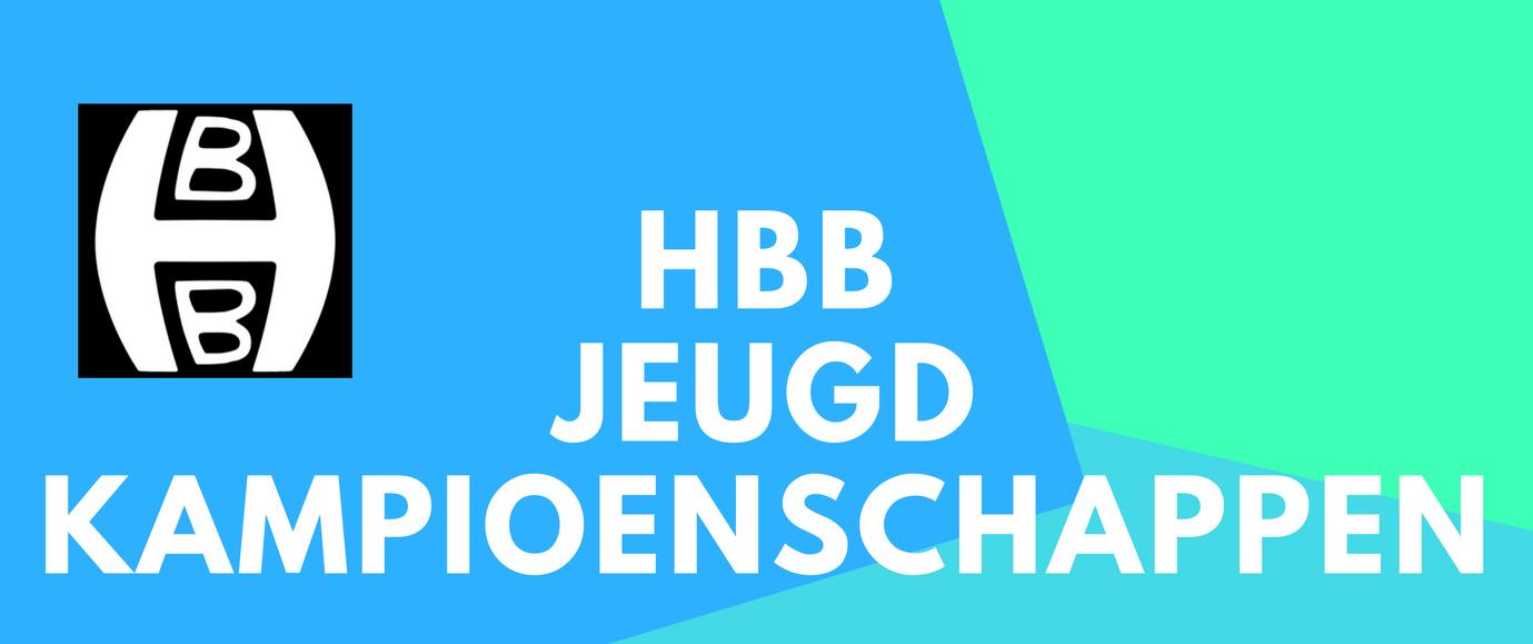 Inschrijving HBB Jeugd Kampioenschappen 2018 geopend!