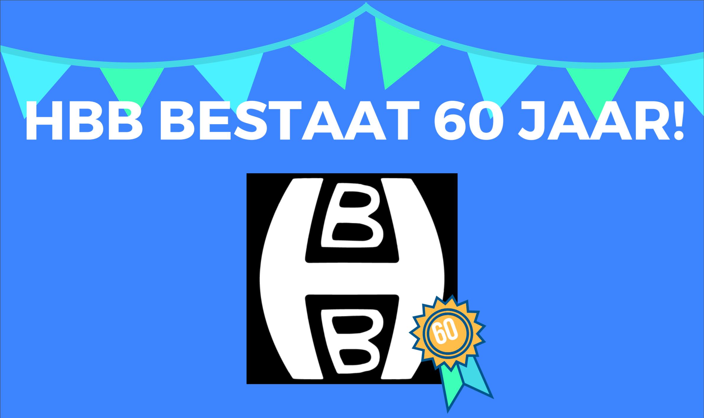 Uitnodiging HBB Jubileumtoernooi 60 jarig bestaan!