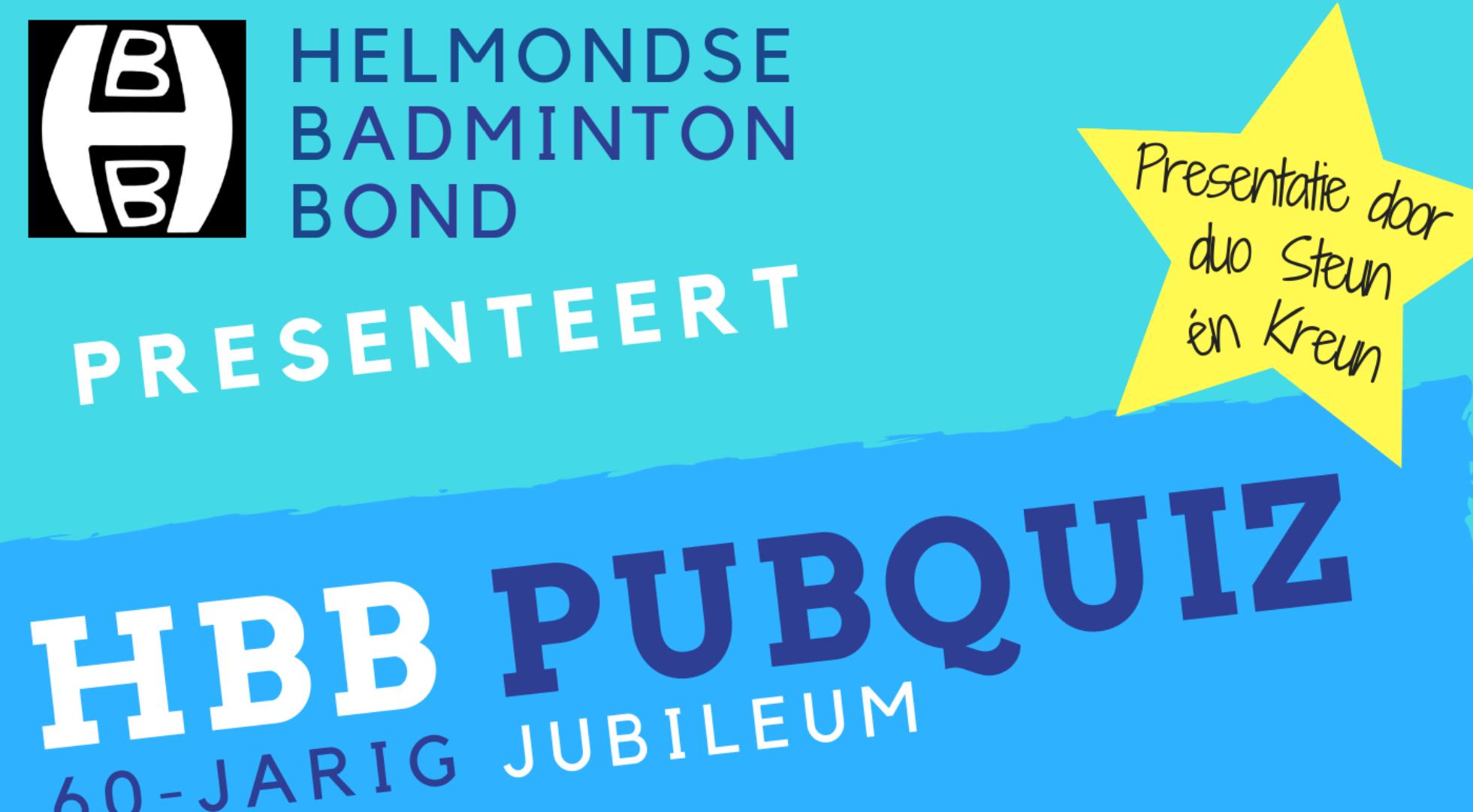 UPDATE: Zoek je team bij elkaar en schrijf je in voor de HBB Jubileum Pubquiz!