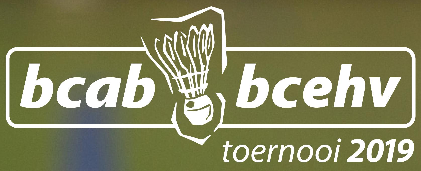 Uitnodiging BCAB/BCEHV toernooi 2019!