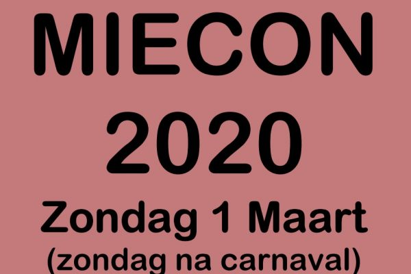 Uitnodiging MieCon Senioren 2020