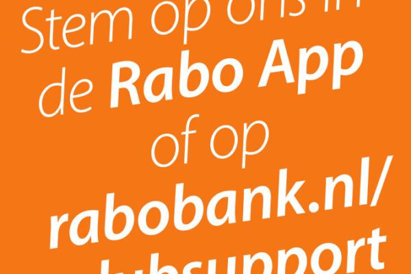 Je kunt weer stemmen op de HBB met de Rabo ClubSupport actie!