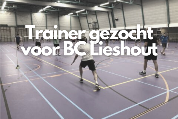 Trainer gezocht voor BC Lieshout